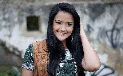 Bruna Martins grava clipe no Rio