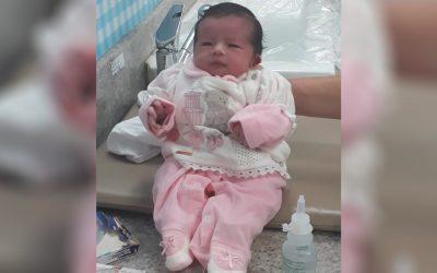 Ela chegou!  Nasceu Luíza, a primeira filha da cantora Bruna Martins