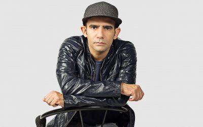 """Leandro Marques divulga o disco """"Eu tenho graça"""" em São Paulo"""