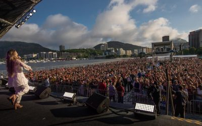 """Graça Music marca presença no megaevento """"Ano da Unção Dobrada"""", no Rio de Janeiro"""