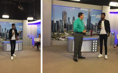 Em divulgação no Rio de Janeiro, Eliezer de Tarsis participa do programa Fala, Amigo!