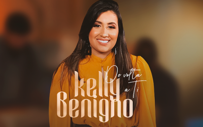 """""""De volta a Ti"""": Kelly Benigno em versão intimista, ao vivo em estúdio"""