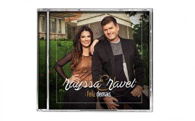 Primeiro CD da dupla Rayssa e Ravel chega da fábrica