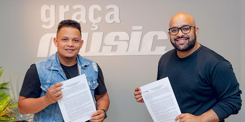 Do Pará para todo Brasil: Gustavo Henrique assina contrato com a GMusic