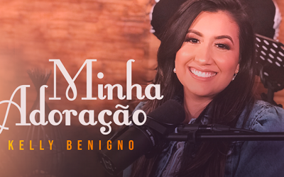 "Kelly Benigno lança single do projeto ""Home Session Graça Music"""