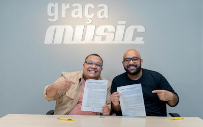 A voz marcante de Douglas Borges reforça o time Graça Music