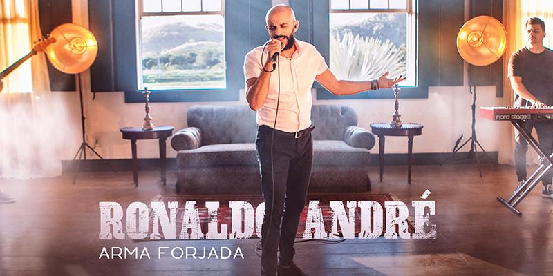 """Ronaldo André lança single e clipe """"Arma forjada"""" pela Graça Music"""