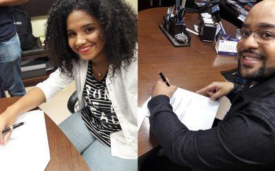 Graça Music assina contrato com Sarah Beatriz e Tiago Peres